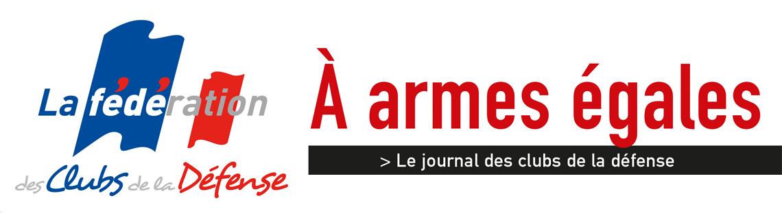 Bannière du magazine A Armes égales