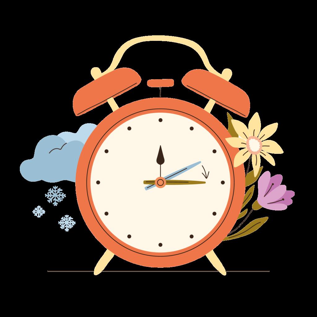 horloge changement heure été
