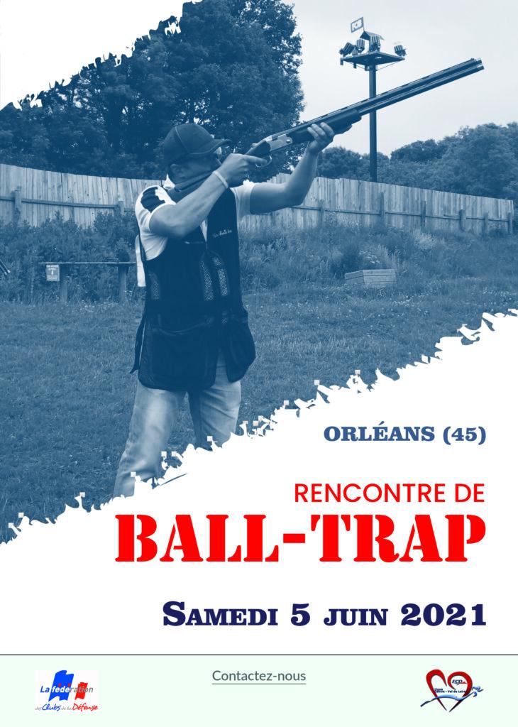 affiche ball-trap 5 juin 2021
